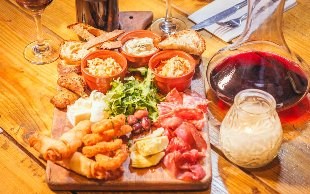 A mezze flight